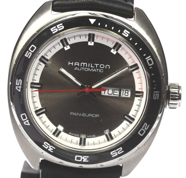 未使用☆HAMILTON ハミルトン パンユーロ H354150 AT メンズ箱保【中古】【未使用】