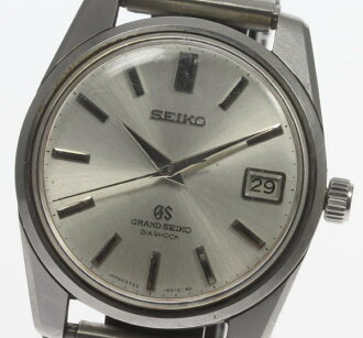 GS ground SEIKO second 5722-9990 lion medallion cal.5722B rolling by hand men☆
