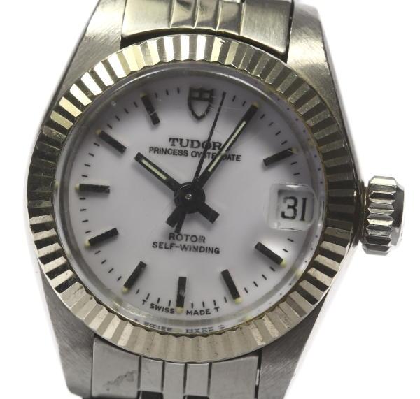 チュードル 92314 プリンセス オイスターデイト 自動巻き Cal.2671 レディース腕時計【中古】
