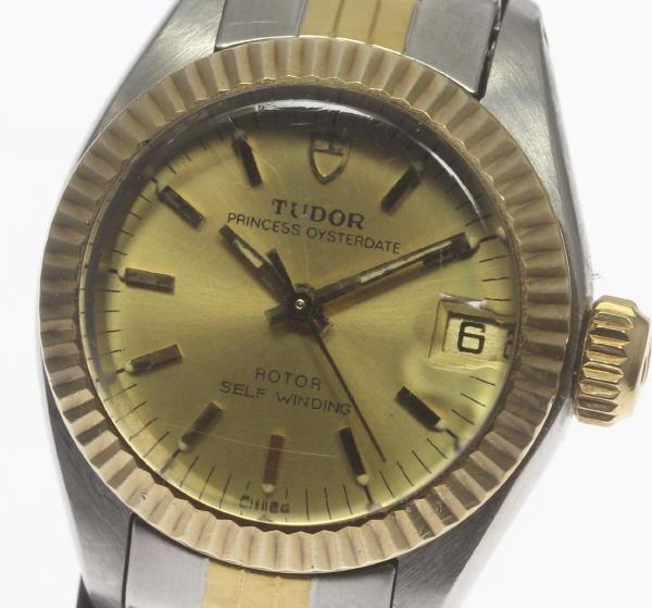 チュードル プリンセス オイスターデイト 92313 Cal.2671 自動巻き レディース腕時計【中古】