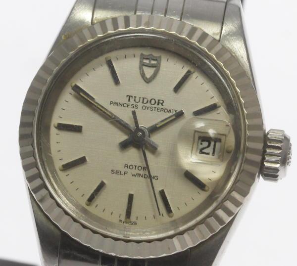保証書付 チュードル プリンセス オイスターデイト 92414 自動巻き Cal.2671 レディース腕時計【中古】
