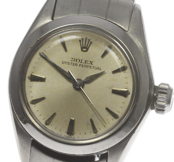 ※訳あり【ROLEX】ロレックス オイスターパーペチュアル 6618 cal.1161 AT レディース【中古】