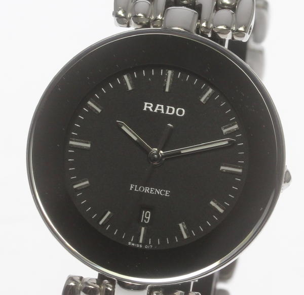 【RADO】ラドー フローレンス 129.3742.4 クォーツ メンズ SSブレス☆ 【中古】