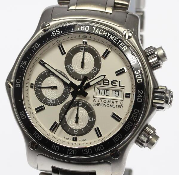 【EBEL】エベル 1911 ディスカバリークロノ E9750L62 自動巻き メンズ【中古】【170617】【event】