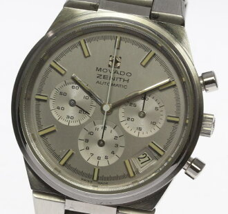 Zenith X モバードダブルネーム 01.0180.434 self-winding watch men chronograph