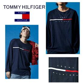 【新品■正規品■送料無料■ギフト包装無料】Tommy Hilfiger トミー ヒルフィガー ロゴ ロングTシャツTINO TEE XL メンズ 男性 ギフト プレゼント 誕生日 お祝い