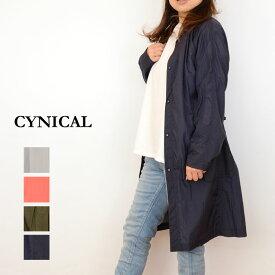 24bffdc58655 【送料無料】CYNICAL(シニカル)ナイロンライトコート91294004(ナイロン コート レディース