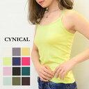 【得割】【メール便無料】CYNICAL(シニカル)ラインストーン×バッククロスキャミソール81295117(ラインストーン バッ…