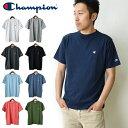 【メール便送料無料】【メール便可】Champion チャンピオン メンズ ワンポイントロゴTシャツ ベーシック チャンピオン…