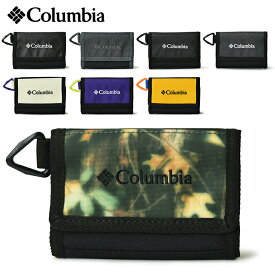 【メール便送料無料】 COLUMBIA コロンビア ナイオベウォレット / 3つ折り 財布 メンズ レディース ナイロン サイフ さいふ ベルクロウォレット コインケース 折りたたみ キッズ 子供 アウトドア PU2249 【2】