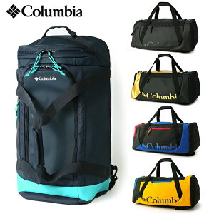 【10%OFF】COLUMBIA コロンビア ブレムナースロープ40Lダッフルバッグ / 2WAY仕様 ボストンバッグ バックパック PUレザー リュックサック メンズ レディース 通学 部活 かばん 学生 旅行 大容量 PU8