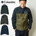 【10%OFF】COLUMBIA コロンビア スティーンズマウンテンフルジップ 2.0 ジャケット/メンズ フリースジャケット フルジップ スタンドジャケット アウター 男性用 防寒 アウトドア WE
