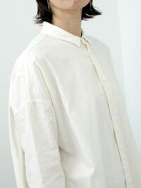 FIRMUMフィルマムラフコットンシーチングワイドシャツワンピース[A9-FR016SF]