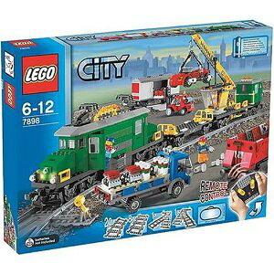 シティ 7898 レゴカーゴトレイン