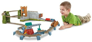 フィッシャープライス トーマストレイン トラックマスター キャッスルクエストセット Thomas the Train: TrackMaster Castle Quest Set 並行輸入品