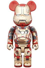 ベアブリック BE@RBRICK アイアンマン IRON MAN MARK XLII(42) DAMAGE Ver. 400% 2015 ワンフェス 冬 WF Medicom Toy