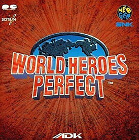 WORLD HEROES PERFECT ゲーム・ミュージック CD 新品