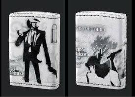 ZIPPO ルパン三世ジッポー 「40th Anniversary SPECIAL No.5 次元&五エ門」本革巻き バンプレスト 新品