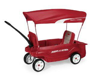Radio Flyer The Ultimate Comfort Wagon, Red ラジオフライヤー