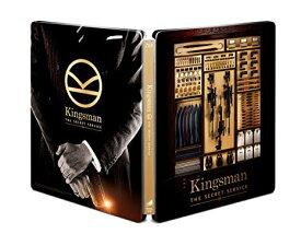 【Amazon.co.jp限定】 KINGSMAN / キングスマン ブルーレイ プレミアム・エディション (初回限定版)(日本オリジナルデザイン ダブルジャケット仕様スチールブック&ブロマイド5枚セット+Kingsmanオリジナル封筒) [Steelbook] [Blu-ray]新品 マルチレンズクリーナー付き