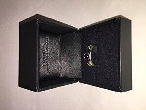ジブリ美術館限定 ハウルの動く城 指輪 19号 シルバー青リング スワロフスキー(Swarovski) 新品