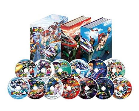 「爆走兄弟レッツ&ゴー!!MAX」DVD-BOX(完全生産限定版) 渡辺久美子 マルチレンズクリーナー付き 新品