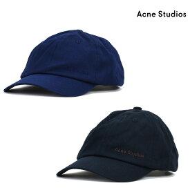 【1/20 0:00〜23:59 エントリー&楽天カード利用でポイント5倍】アクネストゥディオズ Acne Studios C40077 900000 885000 CAP BLACK NAVY BLUE キャップ 帽子 ブラック ネイビーブルー メンズ レディース【送料無料】