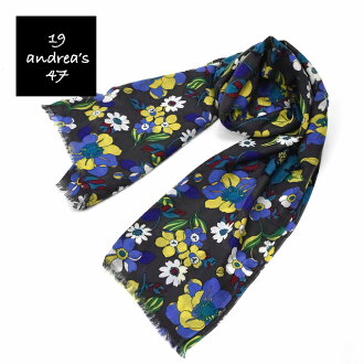Andreas 19 andrea's 47 print cashmere scarf 5050 ladies / men's / gift