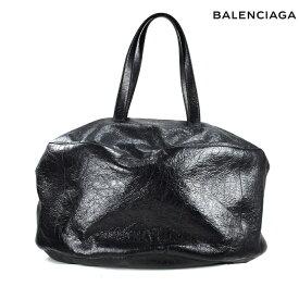 バレンシアガ BALENCIAGA 466809D94IN1000 BLACK エアー ホーボー L ボストンバッグ ハンドバッグ ラージラウンドバッグ ブラック 黒 レディース 【送料無料】
