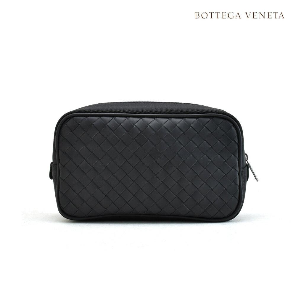 ボッテガヴェネタ BOTTEGA VENETA 449270 VAYD4/1000 ポーチ/ブラック/革 【送料無料】