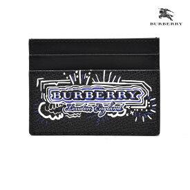 バーバリー BURBERRY 4061942 カードケース パスケース 名刺入れ ブラック 黒 BLACK メンズ【送料無料】