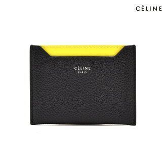 賽琳娜CELINE 10781 3AFE/38NO卡K圍巾皮膚黑色黑BLACK女士