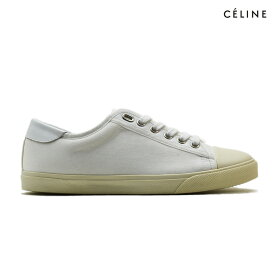 セリーヌ CELINE 330312006 01BC SHOES WHITE スニーカー キャンバス ローカット シューズ 靴 ホワイト 白 レディース【送料無料】