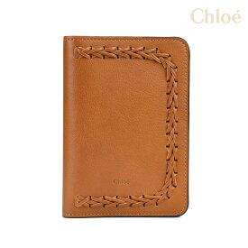 クロエ Chloe 3P0470 H5H/BDU HUDSON ハドソン 手帳カバー レディース キャメル SLG Caramel