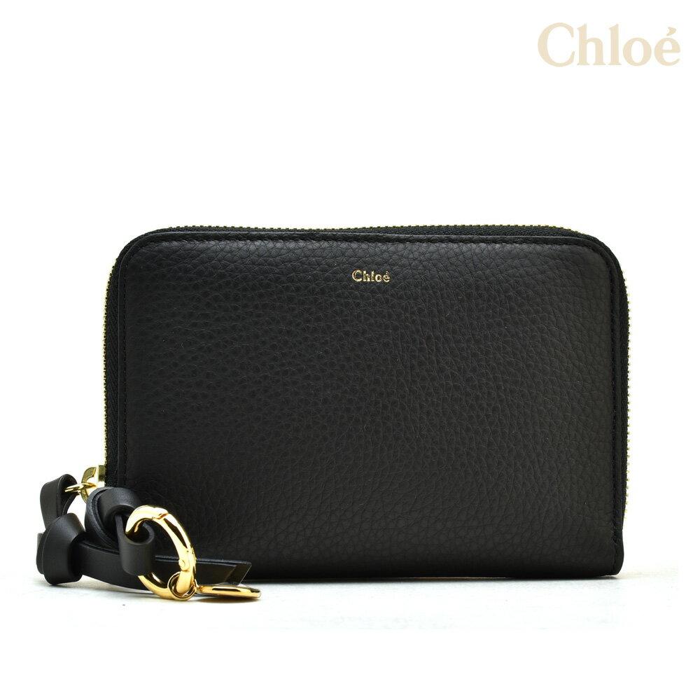 クロエ Chloe 財布 ラウンドファスナー レディース BLACK 3p0708-h9q 001