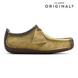 クラークス CLARKS NATALIE OAKWOOD SUEDE 26126802 ナタリー オークウッド スエード ドライビングシューズ カジュアル シューズ 靴 レディース【送料無料】