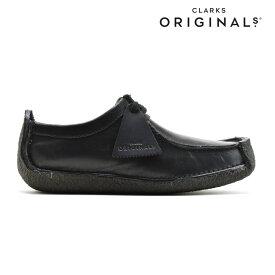クラークス CLARKS NATALIE SMOOTH BLACK ナタリー スムースレザー 革靴 ドライビングシューズ UK規格 ブラック 黒 レディース 【送料無料】