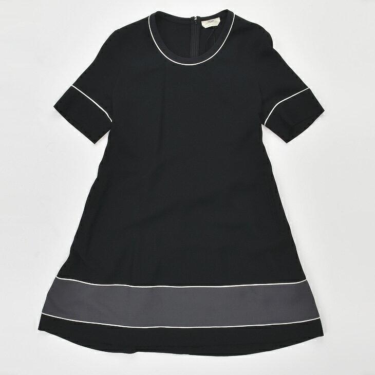 【ファッションセール*大幅値下げ】FENDI フェンディ FD8868 N2V/95L ドレス F4A BLACK レディース/ワンピース/二次会/パーティー【SS】【送料無料】
