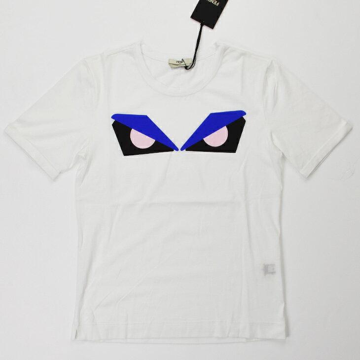 FENDI フェンディ FXX562 71F/WA0 Tシャツ FT1 WHITE レディース/トップス/TOPS【SS】【送料無料】