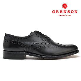 グレンソン ディラン ブラック カーフ GRENSON DYLAN 110013 BLACK CALF 黒 英国製 革靴 メンズ 【送料無料】