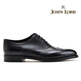 ジョンロブ JOHN LOBB STOWEY BLACK CALF ストーウェイ フルブローグシューズ オックスフォードシューズ ビジネスシューズ ドレスシューズ 革靴 Eワイズ ブラック 黒 メンズ【送料無料】
