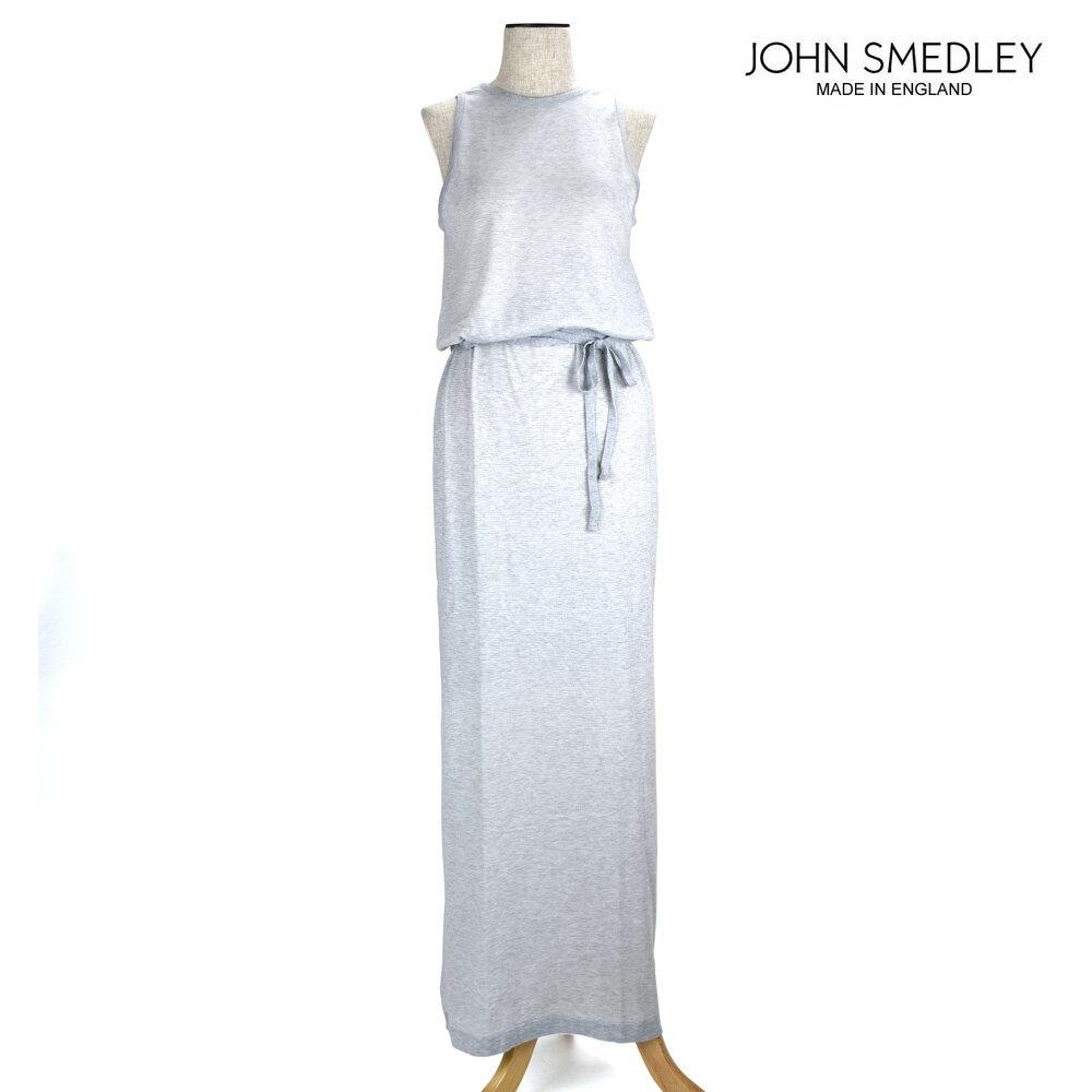 ジョンスメドレー JOHN SMEDLEY ワンピース 9143 GREEN-WHITE レディース