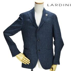 ラルディーニ LARDINI EG0256AV/RP54594 1 JACKET NAVY シングルジャケット テーラード ジャケット カジュアルジャケット ネイビー 紺色 メンズ【送料無料】