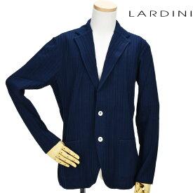 ラルディーニ LARDINI EGLJM56/EG52002 850 JACKET NAVY 2つボタン ニットジャケット テーラード ジャケット カジュアルジャケット ネイビー 紺色 メンズ 【送料無料】