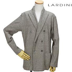 ラルディーニ LARDINI EGLJM21/EG52008 200MA JACKET ダブルジャケット テーラード ジャケット カジュアルジャケット ベージュ系 メンズ 【送料無料】