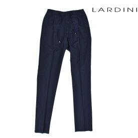 ラルディーニ LARDINI EGMIAMI3/EG52087 203 PANT NAVY ウール ストレート パンツ ネイビー 紺色 メンズ 【送料無料】