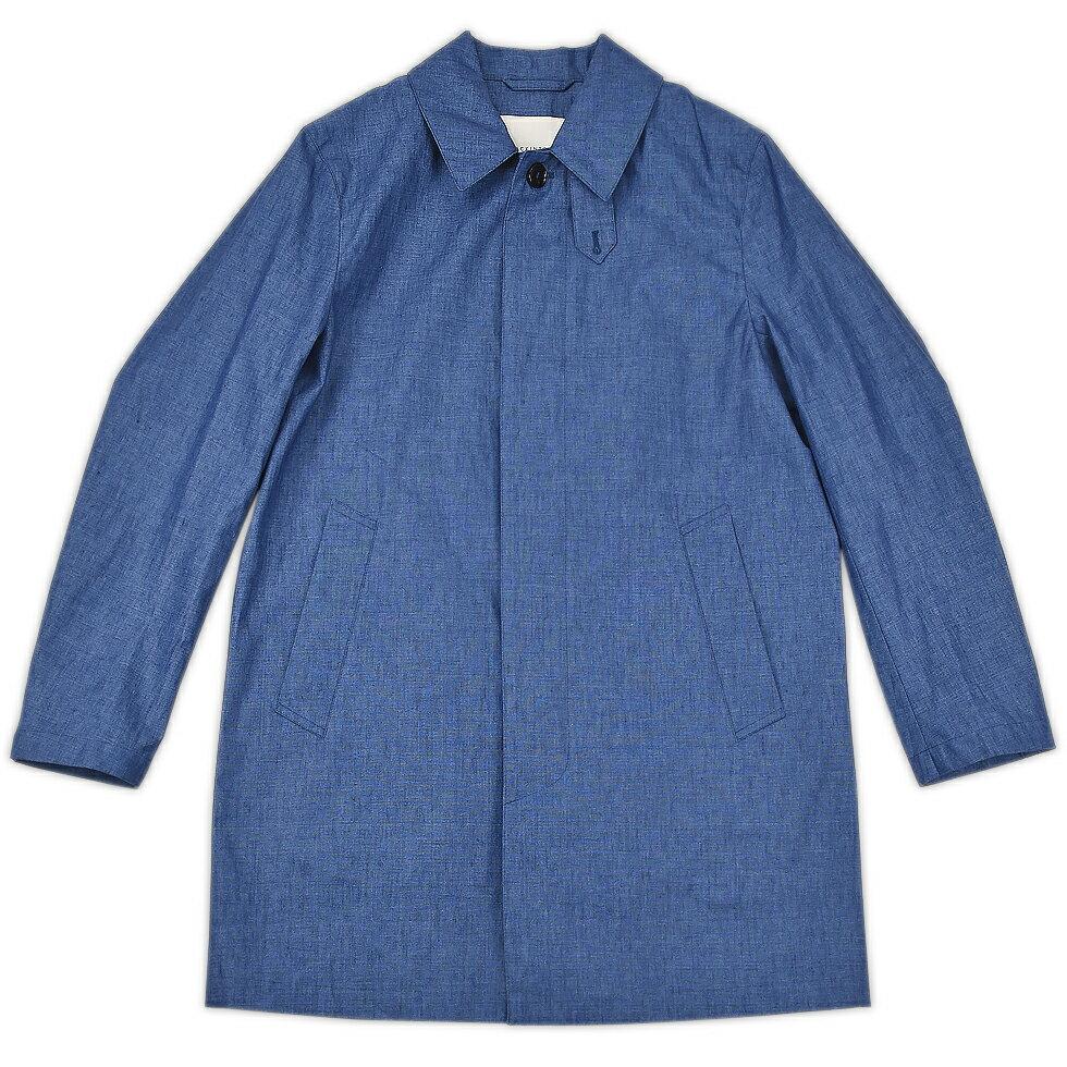 【アウターSALE価格】MACKINTOSH マッキントッシュ SINGLE BREASTED COAT SHORT INDIGO インディゴ GM 002B 4632 メンズ【SS】【送料無料】【SS】
