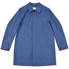 【アウターSALE価格】MACKINTOSH マッキントッシュ SINGLE BREASTED COAT SHORT INDIGO インディゴ GM 002B 4632 メンズ【送料無料】