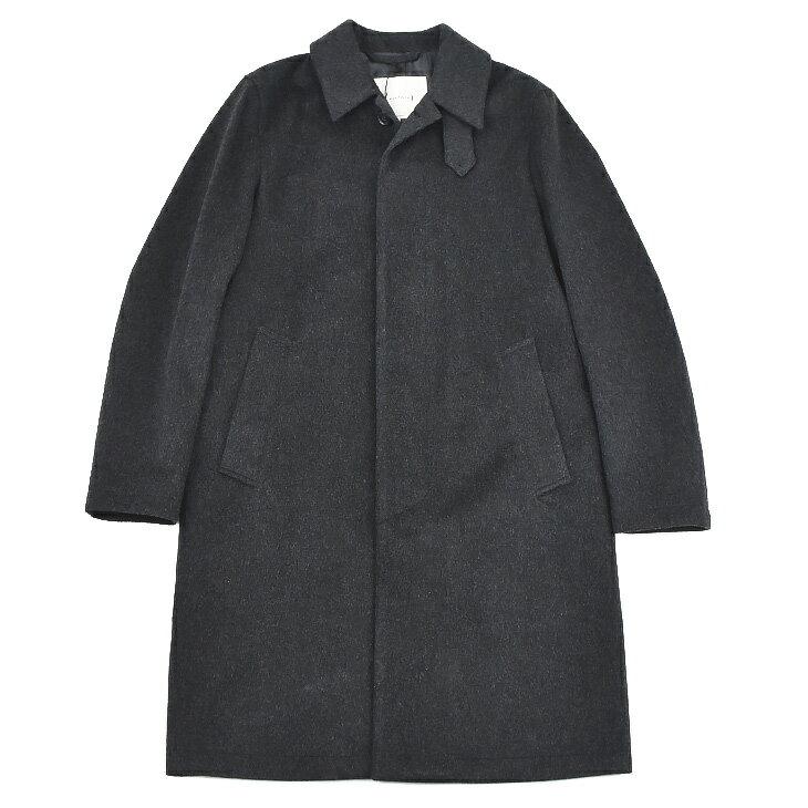 【アウターSALE価格】MACKINTOSH マッキントッシュ gm001f 4597 charcoal メンズ/ウールコート/ステンカラー/ロング/アウター 【送料無料】