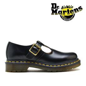 ドクターマーチン Dr.MARTENS R14852001 POLLEY T-BAR SHOE BLACK ストラップ シューズ ブラック 黒 レディース【送料無料】